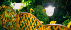 Tuinlamp zonne energie